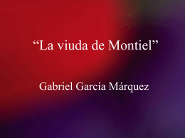 La viuda de Montiel
