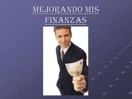 Mejorando mis Finanzas