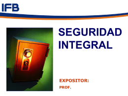 Seguridad Integral - 1