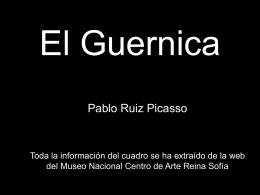 El Guernica de Picasso y la Guerra Civil (fichero ppt)