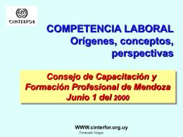 Conceptos y fases de la competencia laboral