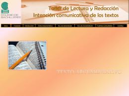 Texto argumentativo - Colegio de Bachilleres