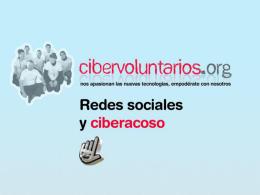 Diapositiva 1 - Cibervoluntarios