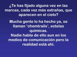Estelas químicas