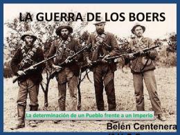 La Guerra de los Boers