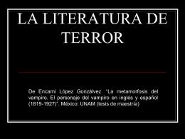 NN.S1-La literatura de terror I