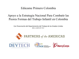 Diapositiva 1 - Partners of the Americas