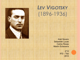 Lev Vigotsky en Powerpoint