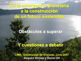 Talller CIMA - Fundación Espacios Verdes