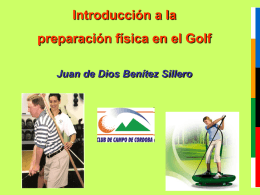 juande conferencia golf Club campo 21 sep 2012