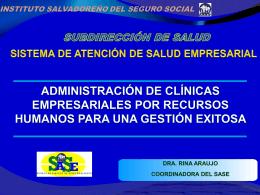 Clínica Empresarial RRHH Gestión exitosa
