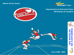 power point sobre el badminton