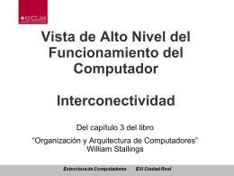 Vista de Alto Nivel del Funcionamiento del Computador