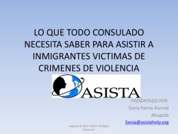 Crímenes de Visa U