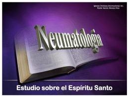 ESPIRITU SANTO - Iglesia Cristiana Internacional,Inc.