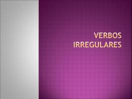 verbos irregulares 2010
