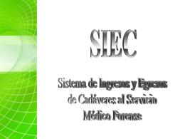 12.- PRESENTACION SIEC