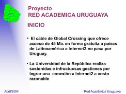 RAU2-EVC - Red Académica Uruguay