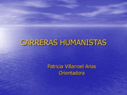 CARRERAS HUMANISTAS - Liceo Max Salas Marchán de Los Andes