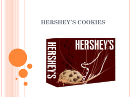 hershey cookies