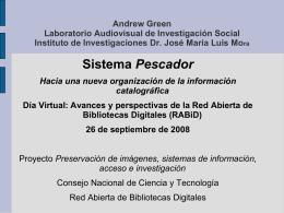 Andrew Green Laboratorio Audiovisual de Investigación Social