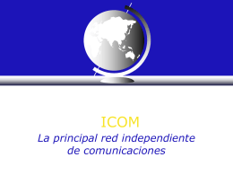 ICOM INTERGRATED INTERNATIONAL INDEPENDENT GARY