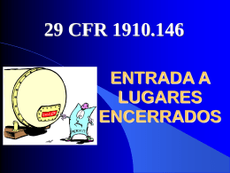ENTRADA A LUGARES ENCERRADOS