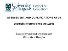 Assessment And Qualifications at 16