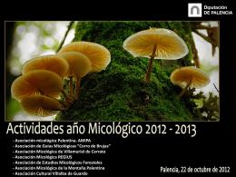 Presentación jornadas micológicas