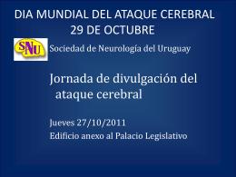 dia mundial del ataque cerebral 29 de octubre