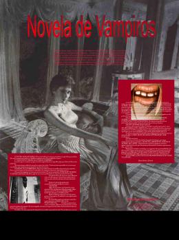 Novela de Vampiros - Fundación Alonso Quijano