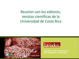 Errores en las revistas - Portal de revistas académicas de la