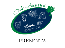 OAK INTERNATIONAL ALUMNI Presenta: