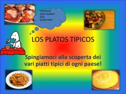 LOS PLATOS TIPICOS