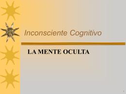 El Inconsciente Cognitivo de Manuel Froufe