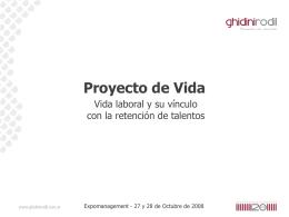 Novedades/PROYECTO DE VIDA