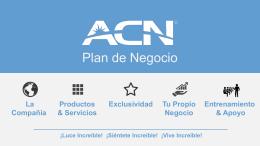 Presentación ACN MEXICO