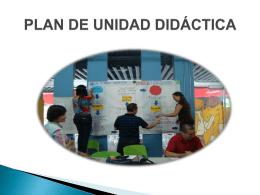 plan de unidad didáctica para explora