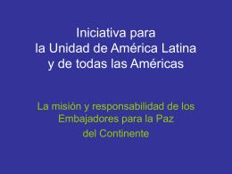 Iniciativa de Paz ALatina