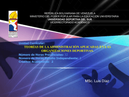 7_Teoría del Caos - CEIDIS Universidad Deportiva del Sur