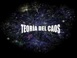 teoría del caos - Edumin-TGS