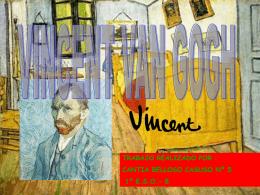 VINCENT VAN GOGH Cantia