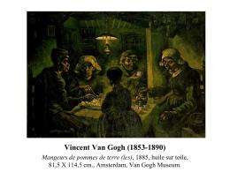 Vincent Van Gogh (1853