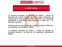 i. base legal