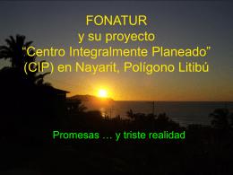 """FONATUR y su proyecto """"Centro Integralmente Planeado"""" en Litibú"""