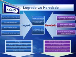 LOGO Logrado v/s Heredado