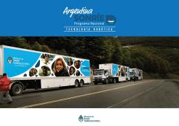 """Presentación del programa """"Argentina sonríe"""""""