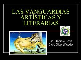 las vanguardias artísticas y literarias