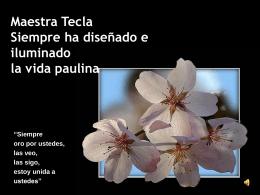 Maestra Tecla-spa