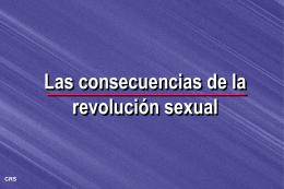 Las consecuencias de la revolución sexual